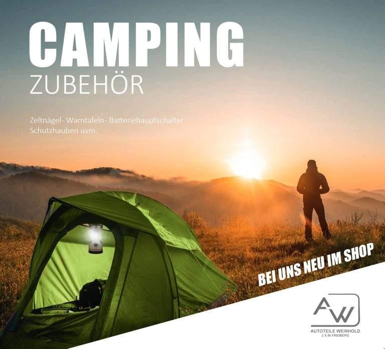 JETZT NEU | Campingzubehör