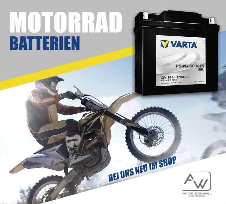 VARTA | Motorradbatterien