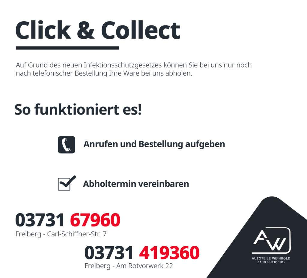 Click & Collect Autoteile Weinhold