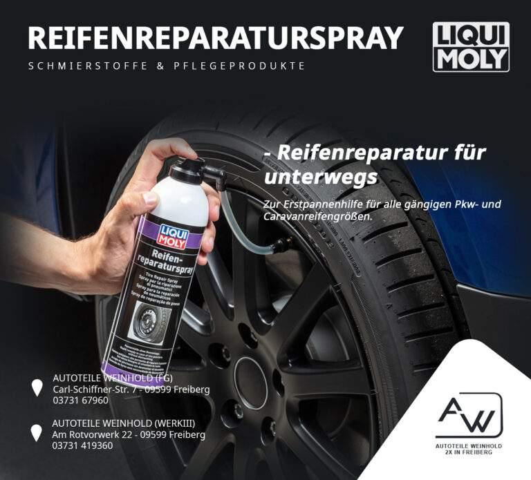 Reifenreparaturspray LIQUI MOLY